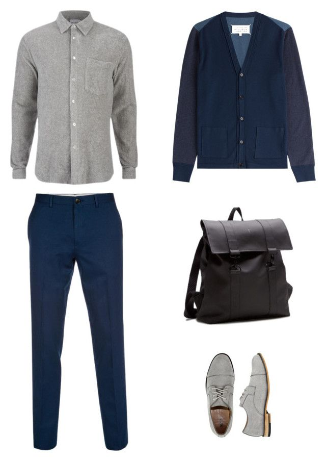 """Untitled #82"" by priliscaa on Polyvore featuring Maison Margiela, Paul Smith, X-Ray, Rains, men's fashion and menswear"