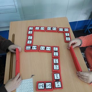 ABN EN EL COLEGIO ARQUITECTO SÁNCHEZ  SEPÚLVEDA : Tenemos en esta foto un dominó. Elaborado por la ...