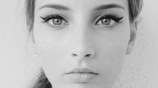 Winged eyeliner in vijf simpele stappen