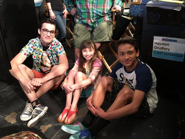 """Photos: Cast Of """"Liv And Maddie"""" At Live Audience Taping ..."""