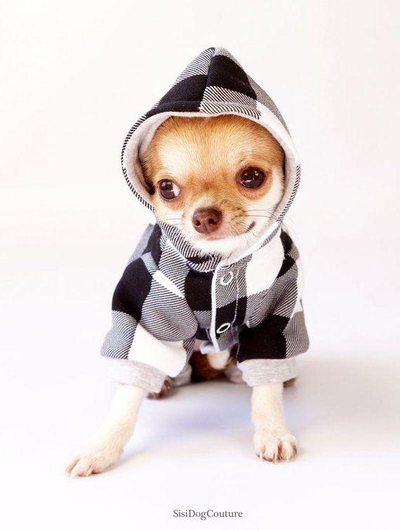 en venta cupón doble Venta de liquidación Chihuahua clothes Dog jumpsuit Small dog sweater Dog pajamas ...