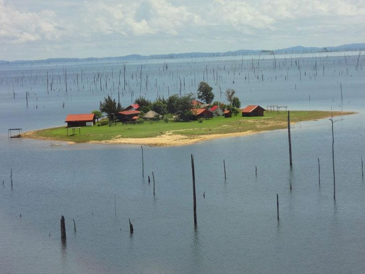 Paradijs eiland - Suriname