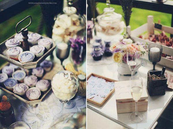 как украсить капкейки #wedding #cupcake #candytable #сладкий стол #свадьба #капкейки