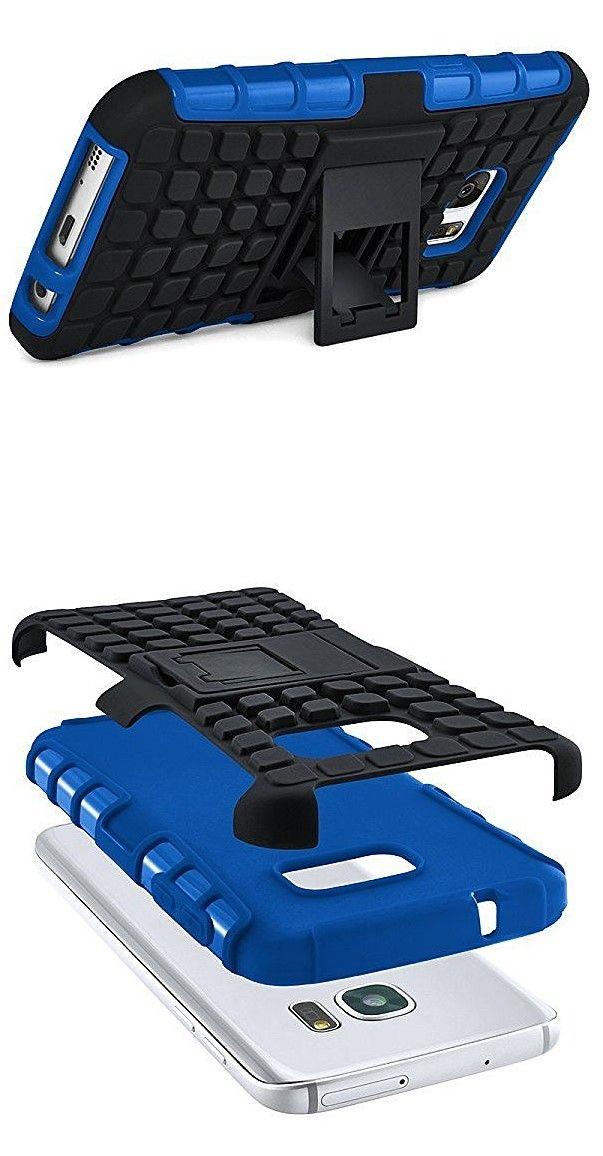 Tank Case | Outdoor Hülle mit Dual Layer Protection | Handy Schutz Tasche von OneFlow | Back Cover in Blau