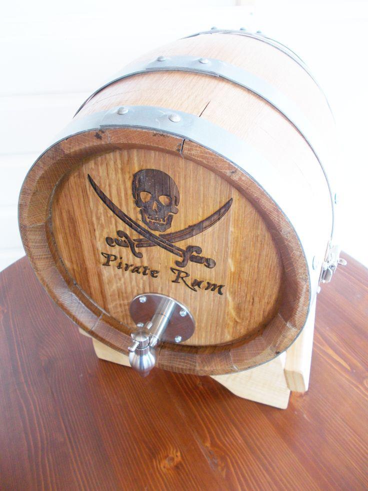 1637 - Serigrafia pirata su #botti bag in box per utilizzo in #pub, #bar, #ristoranti e #cantine - Briganti srl
