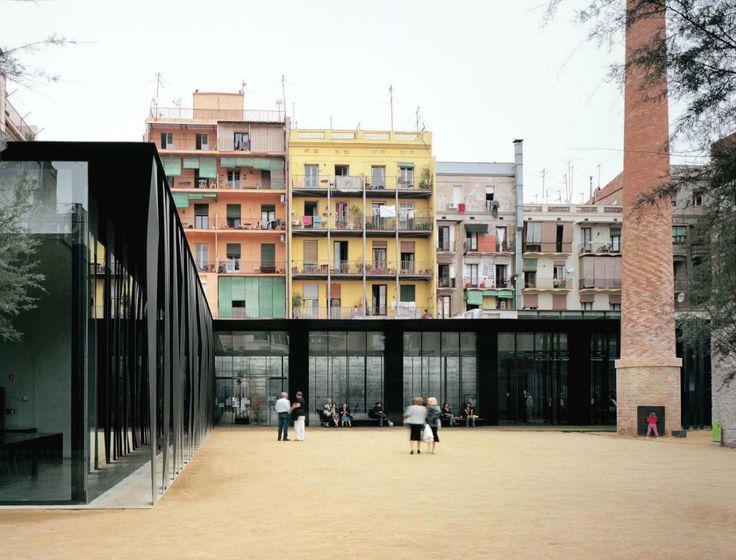 RCR Arquitectes - Sant Antoni library and senior citizen center