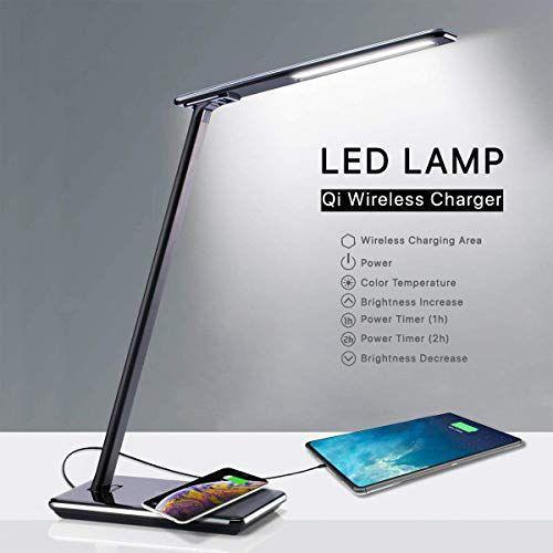Sans Qbox Lampe Led De Usb Bureau Et Fil Porte Chargeur Avec YgmIb6vf7y
