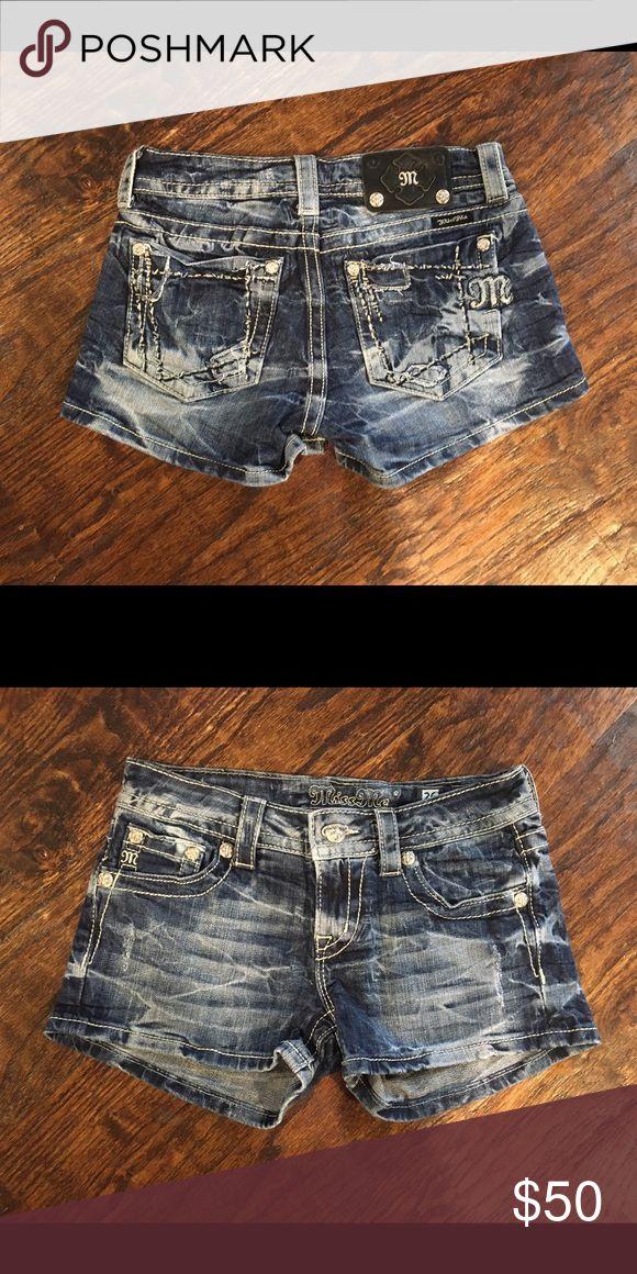 Miss Me Denim Shorts, sz: 26 Miss Me Denim Shorts, sz: 26. SO CUTE! Miss Me Shorts Jean Shorts