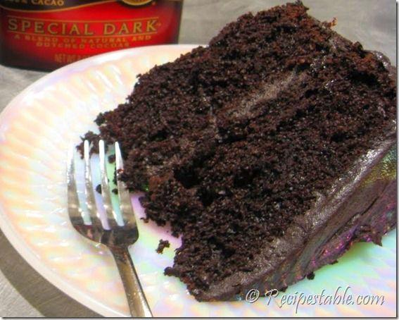 Black Chocolate Cake Recipe - Recipes Table