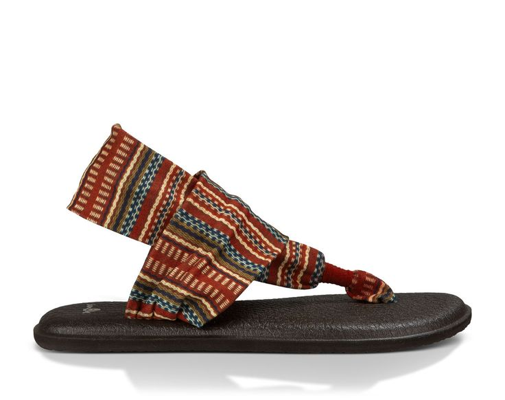 Sanuk Women's Yoga Sling 2 Prints Sandals Burg Blanket 6 and Cleaner Bundle  > Hurry! Check out this great product : Yoga Sandals
