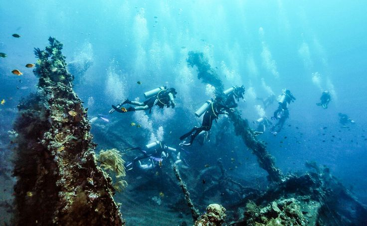 diving spot bali tulamben indonesia travel justgoindonesia