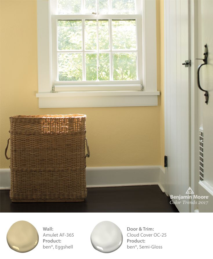 The Right Shade Of Yellow Can Instantly Add Warmth To A Home. These Walls  Are