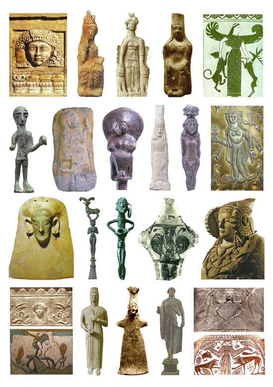 23 Goddess Images from the Iron Age (plate 4)