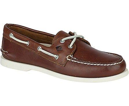 Men S Authentic Original  Eye Cross Lace Boat Shoe