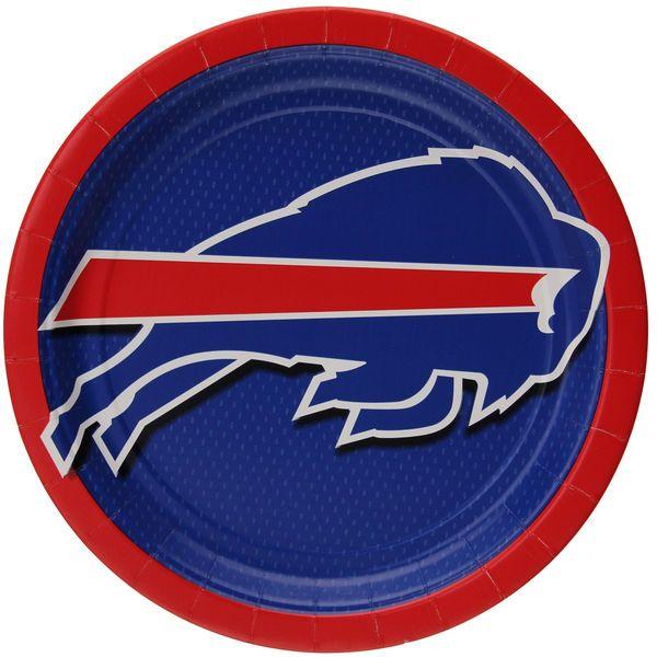 "Buffalo Bills 9"" Paper Plate 8-Pack - $4.99"