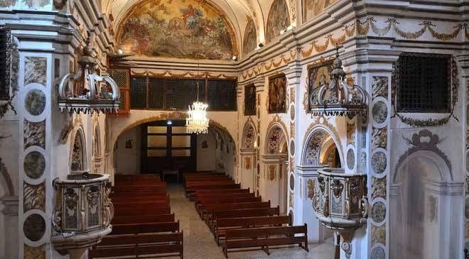 Interior de la Iglesia de la Concepción de Borja © Enrique Lacleta Paños. Archivo del CESBOR