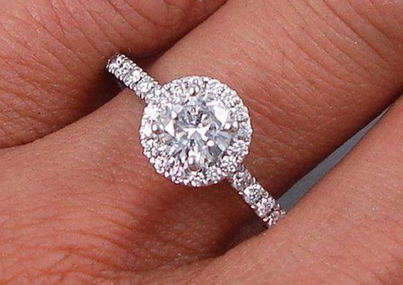 Guarda Questo Articolo Nel Mio Negozio Etsy Https Www Etsy Com It Listing 643490127 Engageme Lab Grown Diamonds Engagement Rose Engagement Ring Grown Diamond