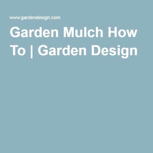 25+ Best Ideas About Garden Mulch On Pinterest | Insect Repellent