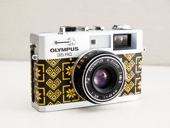 Olympus 35 RC - MINT CONDITION functional vintage 35mm ultra compact rangefinder camera, Zuiko f:2.8 lens, Full-Mechanical, New Lightseals!