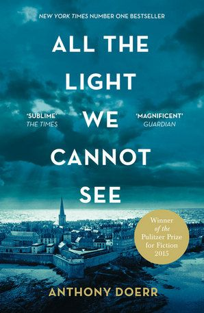 All the Light We Cannot See by Anthony Doerr. When Marie Laure goes blind, aged six, her father builds her a model of their neighborhood, so she can memorize it with her fingers and then navigate the real streets. But when the Germans occupy Paris, father and daughter flee to Saint-Malo on the Brittany coast. In Germany, an orphan boy, Werner, becomes a master at building and fixing radios - his talent makes him a highly specialized tracker of the Resistance, ultimately taking him to…