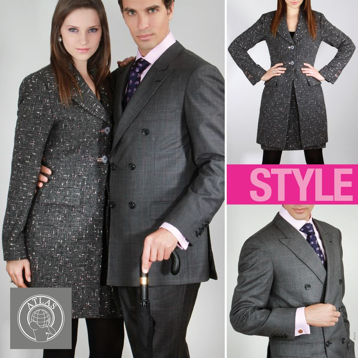 Fashion, Style, Moda, Paños, Wool, Suit, Coat, Woman fashion, Men fashion, Paños Atlas.