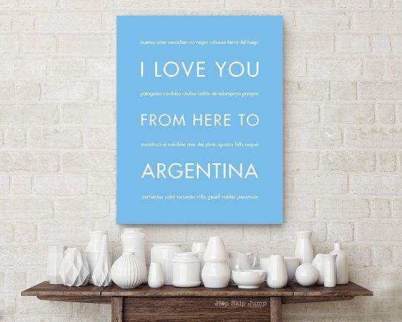 Argentina Art Print Home Decor Wall Art Poster Salta F