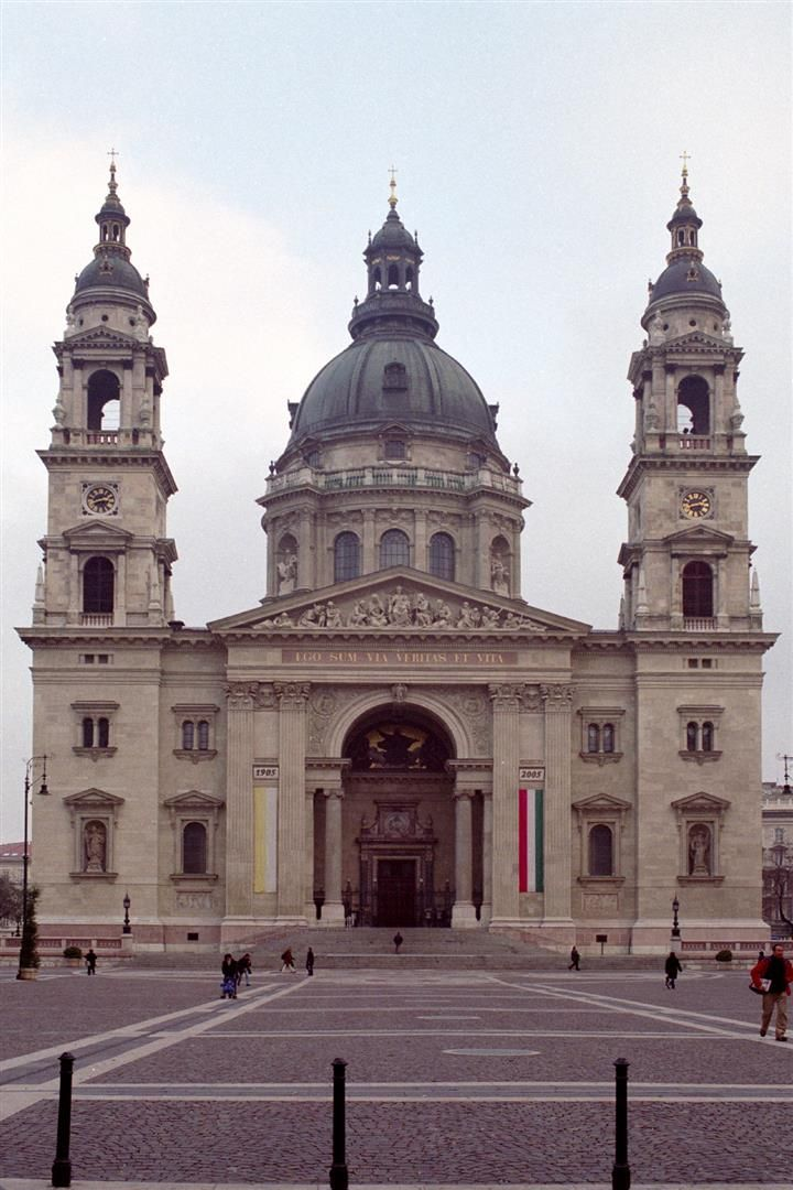 St. Stephen's Basilica in Budapest