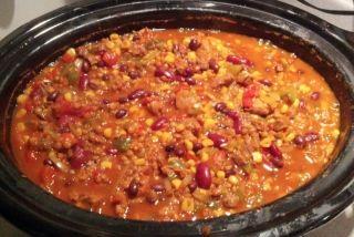 Chili épicé à la Woz #recettesduqc #souper #legumineuse