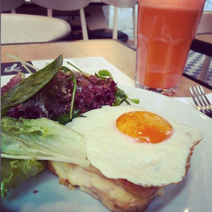 Croque madame czyli francuski klasyk nie tylko na dzień dobry #difood, #dicafedeli