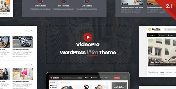 Free download (VideoPro v2.2 - Video WordPress Theme)  on http://freewp.xyz/videopro-v2-2-video-wordpress-theme/    / By themelock - September 15, 2017 / Views: 96                  The most powerful WordPress theme for video-based websites. Built upon our True Mag theme, biggest video theme on market, VideoPro has more unique features which help you to build any kind of video websites. Whether it is about #webdesign #webdevelopment #webdesign #webdevelopment | #seo#webstrategy #SMM #Startup…