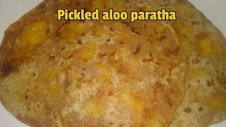 Pickled aloo paratha - Aloo paratha with the flavor of pickle to get the spicy and sour taste. This recipe is mainly for the pickle lovers or you can prepare red or green chutney of your choice and apply …
