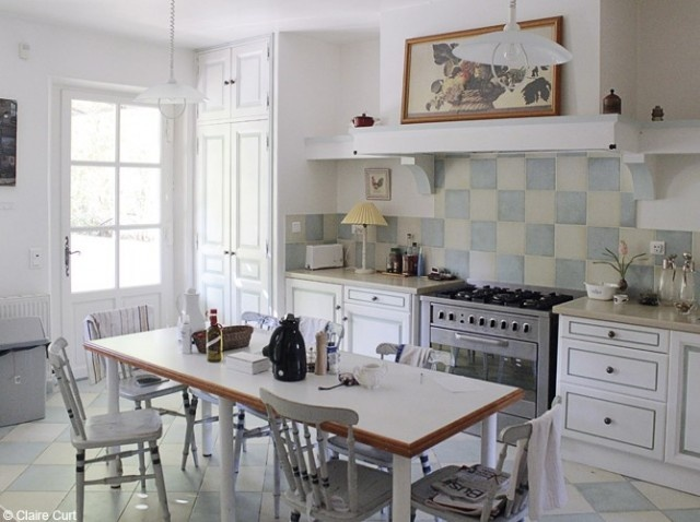 181 best cuisine images on Pinterest Kitchen ideas, Home kitchens - modele de cuisine americaine