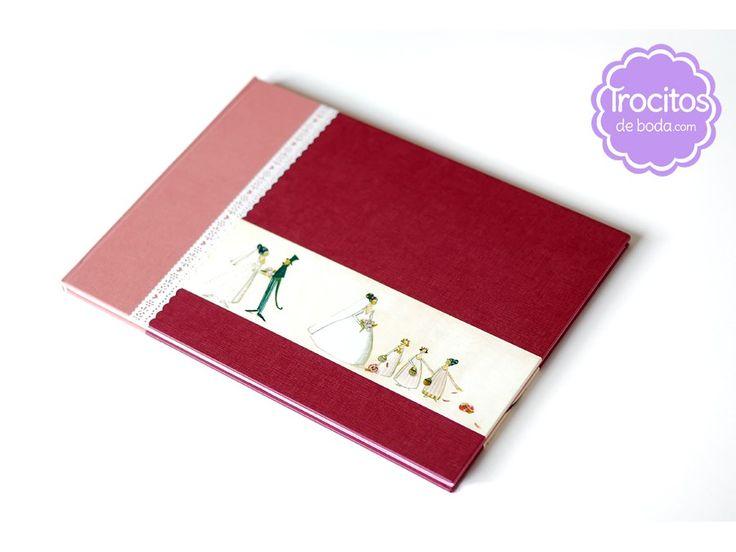 Libro de firmas artesanal BRIDEMAIDS