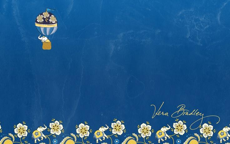 Vera Ellie Blue Desktop Wallpaper