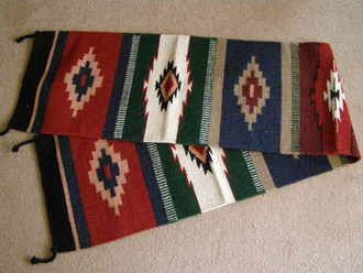 """Large Southwestern Table Runners 16""""""""x80"""""""" (16805)"""