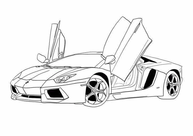 Dibujos Lamborgini Cerca Amb Google Cars Coloring Pages Truck Coloring Pages Coloring Books