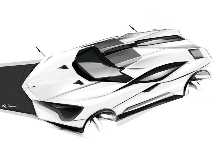 Lambo sketch CarDesign Display: best work portfolio and offline - Cardesign.ru - The main resource of the vehicle design. Design cars. Portfolio. Photos. Projects. Design forum.