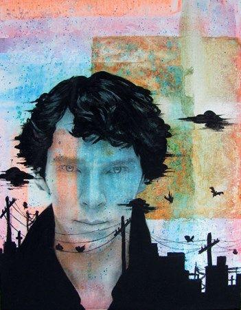 Image Transfer w/ Acrylic Gel Medium - Conway High School Art Project