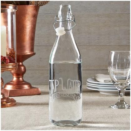Looking to be healthier in the new year? Start by drinking more water. This chic carafe is great to keep on your desk or by your bedside.