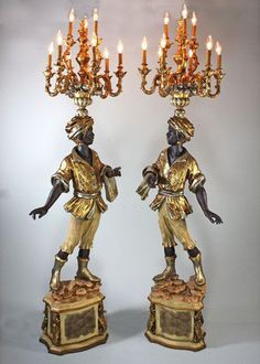 89 best Coz : Blackamoor lamps. images on Pinterest | Venetian ...