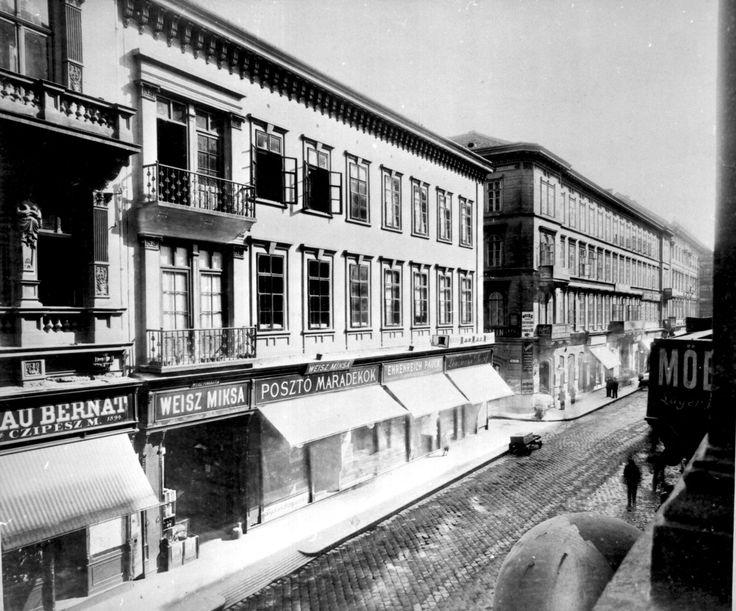 Király utca 15-17, ca. 1896