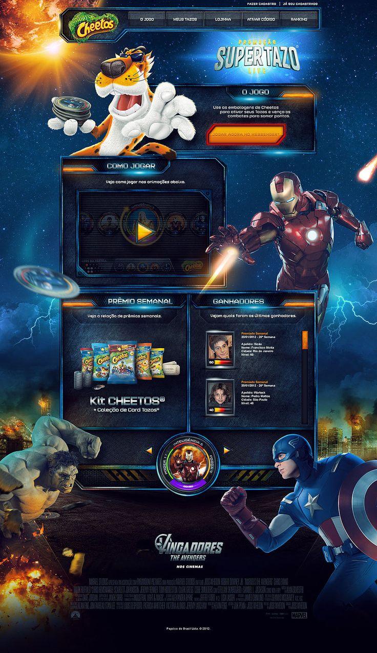 Game Super Tazo - The Avengers - Mr. Conde