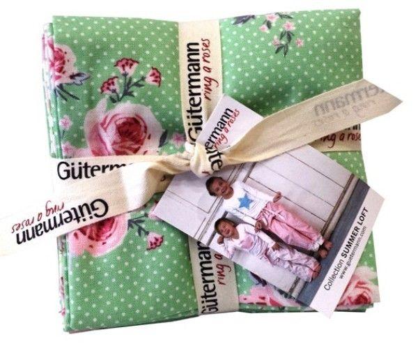 Gütermann Fat Quarter*ring a roses* - SUMMER LOFT