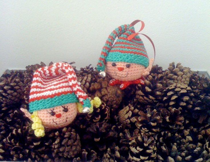 Amigurumi Crochet Christmas Patterns : 17 Best images about Christmas Stuff on Pinterest Free ...