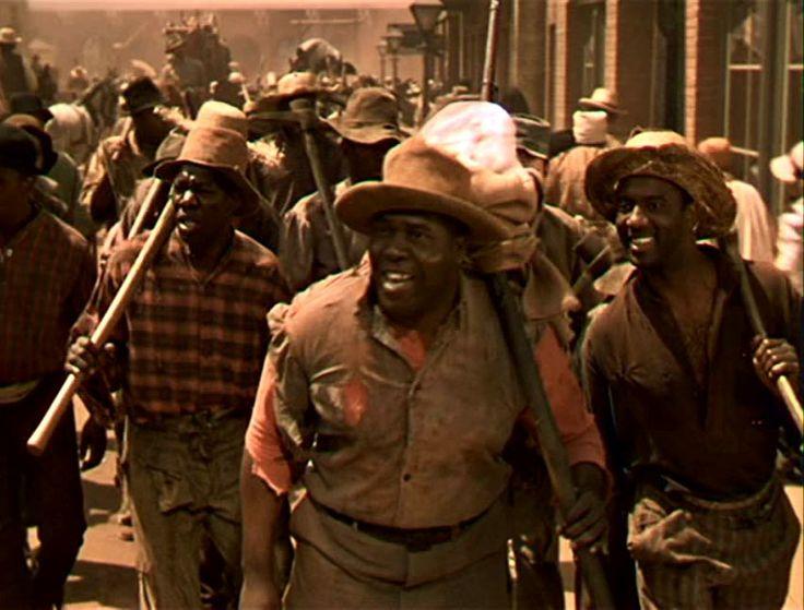"Everett Brown as Big Sam.                   ""Quittin' Time"""