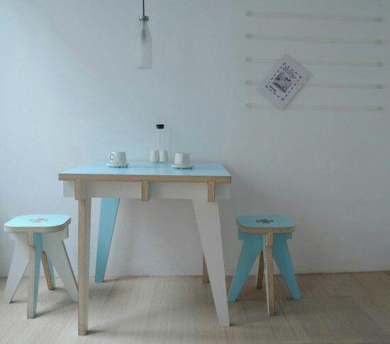 Droog Design Apartment For Rent In Ghent, Belgium // © Droog