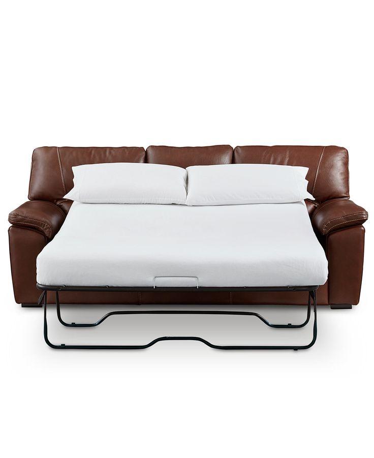 Sofa Tables Ashley Larkinhurst Faux Leather Queen Size Sleeper Sofa in Earth Queen size sleeper sofa Sleeper sofas and Queen size