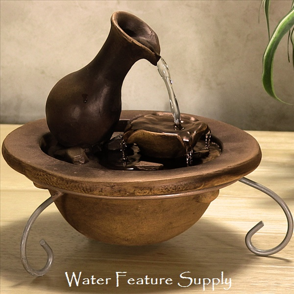This Pouring Pitcher Fountain Has A Low Water Sound For Those Who Value The  Beauty Rather Than The Sound Of A Water Fountain. Watch The Video On Our  Website ...