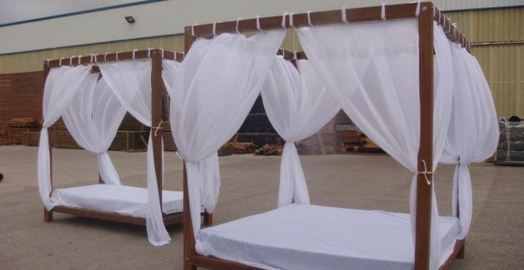 Camas chill out o camas balinesas incofusta fabrica de madera en valencia art casas de playa - Fabrica de casas de madera ...