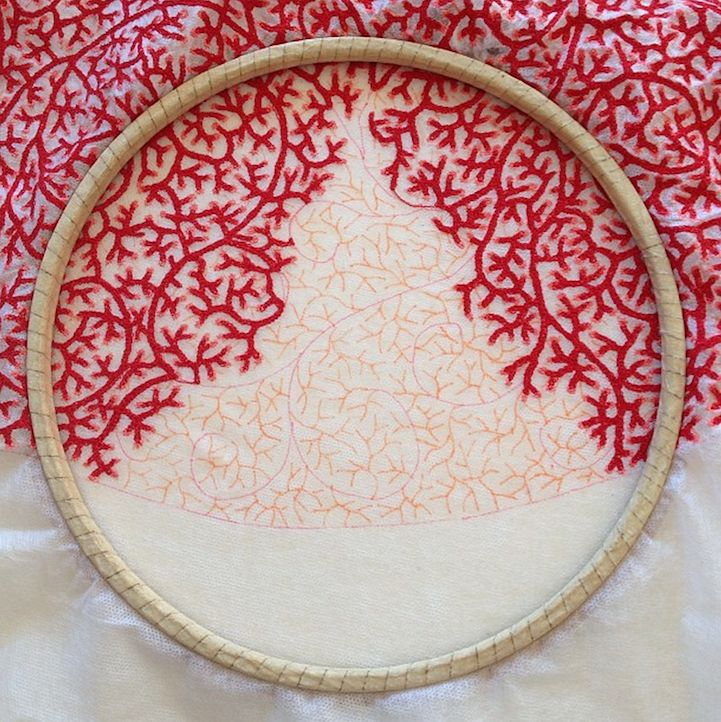 Ideas about modern embroidery on pinterest